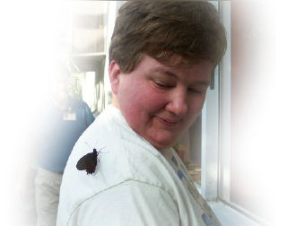 Anne with butterfly